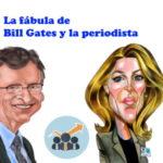 La historia de Bill Gates y la periodista